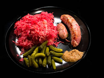 Pink Sauerkraut by attomanen