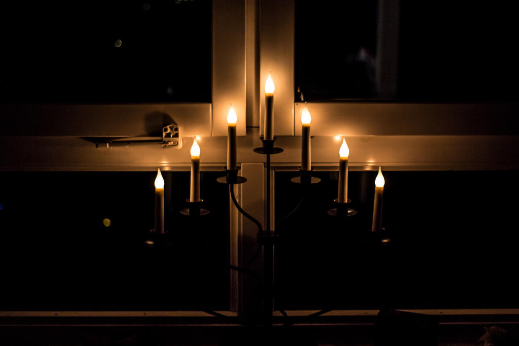 Advent Candleholder by attomanen