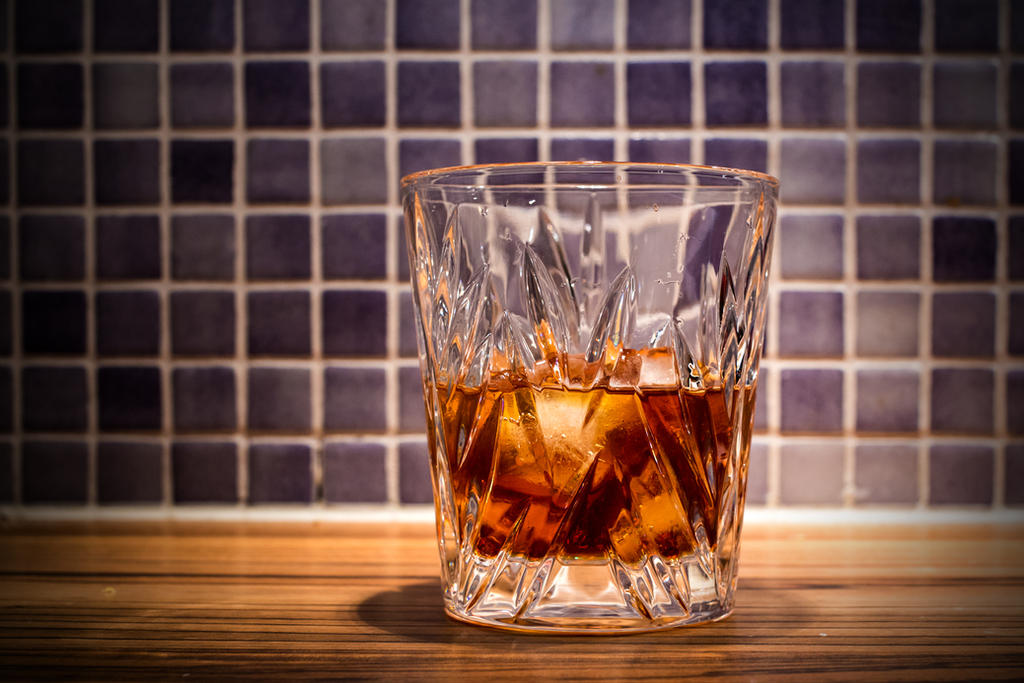 French-American Old Fashioned in German Glass by attomanen