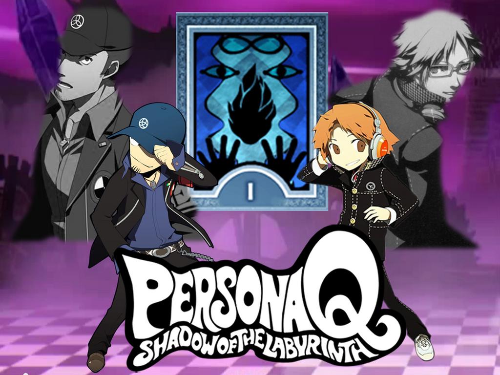 Persona Q: Yosuke/Junpei Fan-made Wallpaper by AkiyamaFC on DeviantArt Akihiko Persona