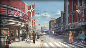 Roswell in Wolfenstein II: The New Colossus