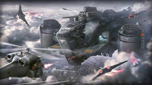 Global Resistance attacking Ausmerzer