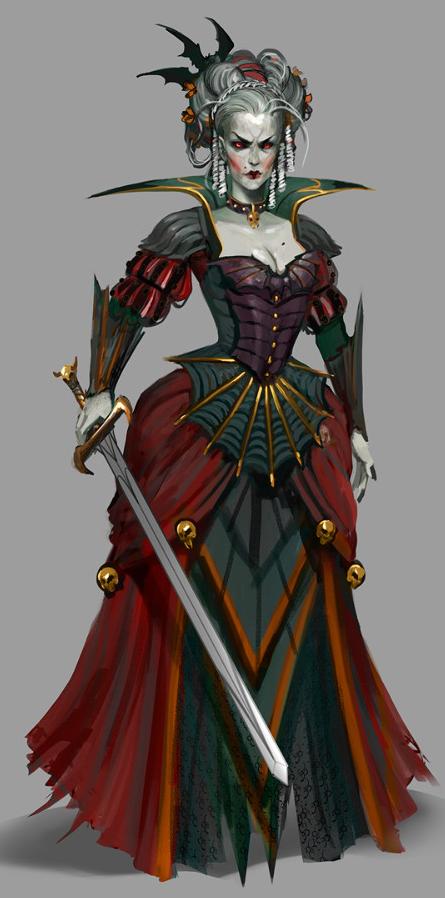 Vampire Countess from Sylvania by CreationKeeper on DeviantArt