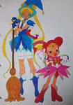 Sailor Moon cross Doremi Part 1 (Colored)