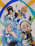 Magical Girl Quartet~ (Colored)