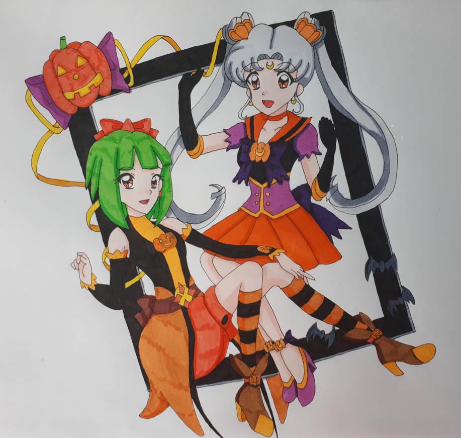 Happy Halloween~ (Colored)