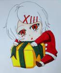Christmas Juuzou~ by darkskyluna