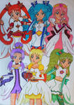 Year Time Pretty Cure Group (Colored)