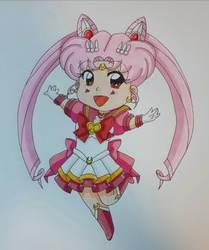 Super Eternal Sailor Chibimoon~ by darkskyluna