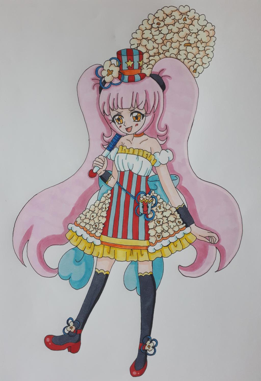 Cure Popcorn (Colored)