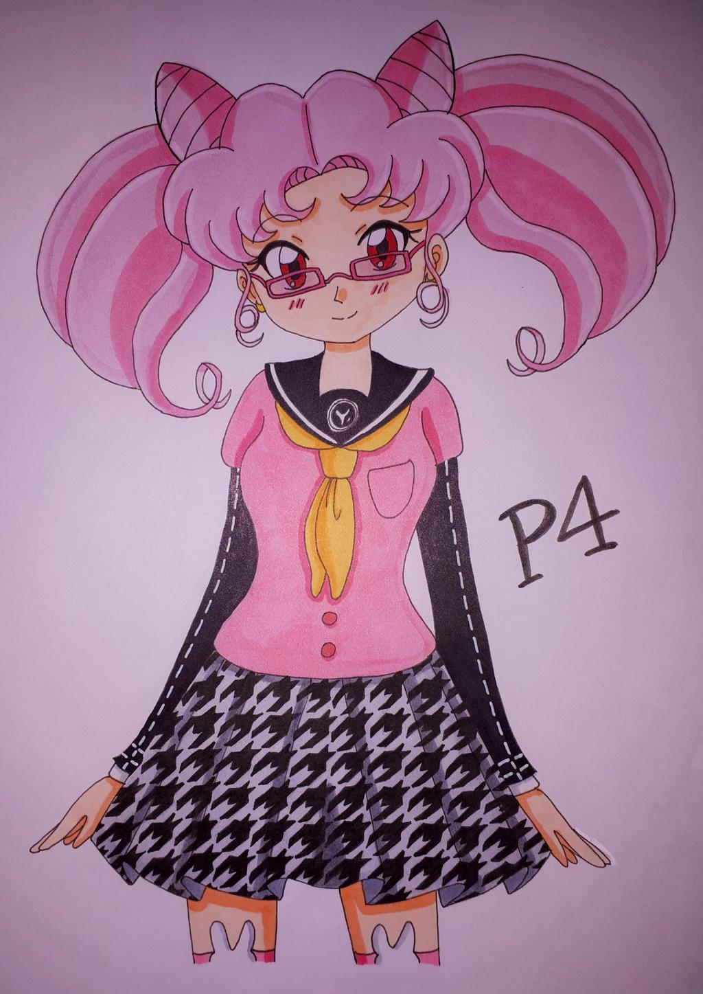 Chibiusa Persona 4 design (Colored)