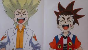 Ranjiro and Aiga (Colored)