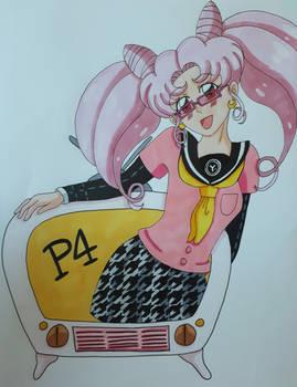 Chibiusa Persona 4 (Colored)
