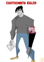Cartoonists Killer para Scuzzo by acmatico