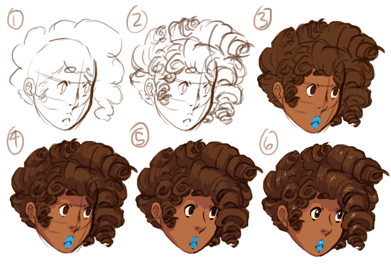 Curly Hair Tutorial By Meltypeach On Deviantart