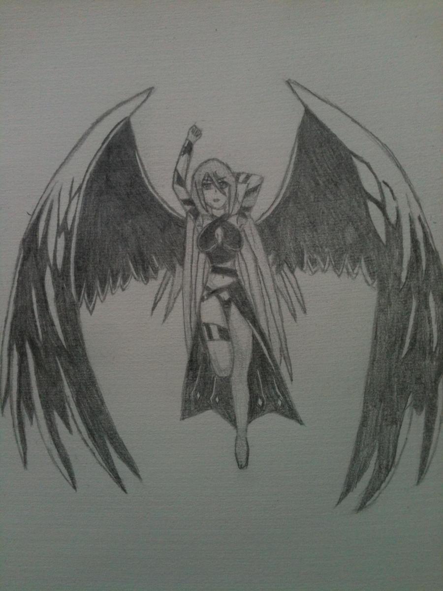 dark angel by cripswagger on deviantart