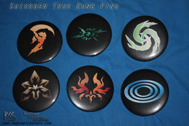 Suikoden True Rine Pins by Radiant-Cadenza