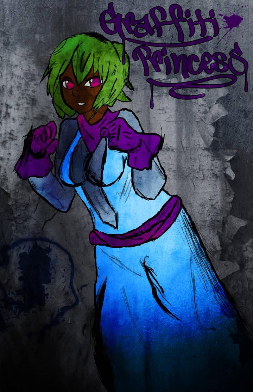 Graffiti Princess by Radiant-Cadenza
