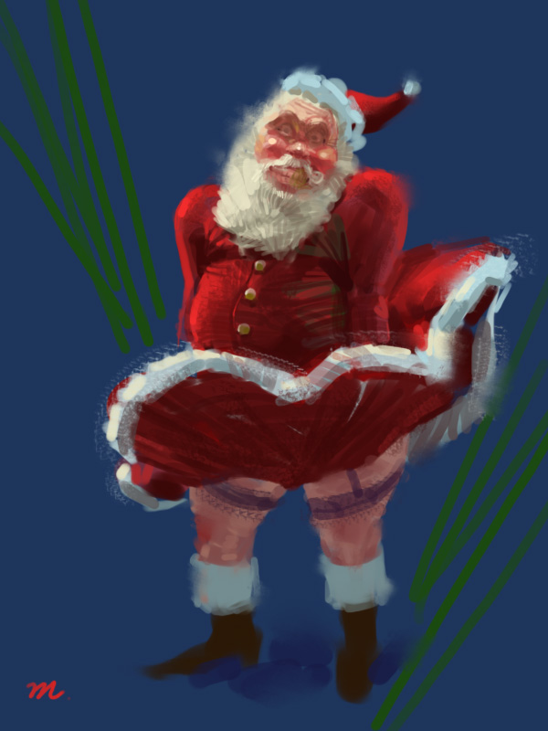 christmas man by manvin on DeviantArt