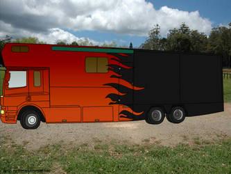 Horse Truck by xXI-Slit-My-WristsXx