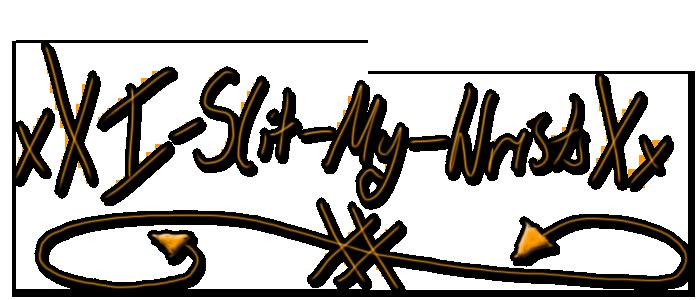 xXI-Slit-My-WristsXx's Profile Picture