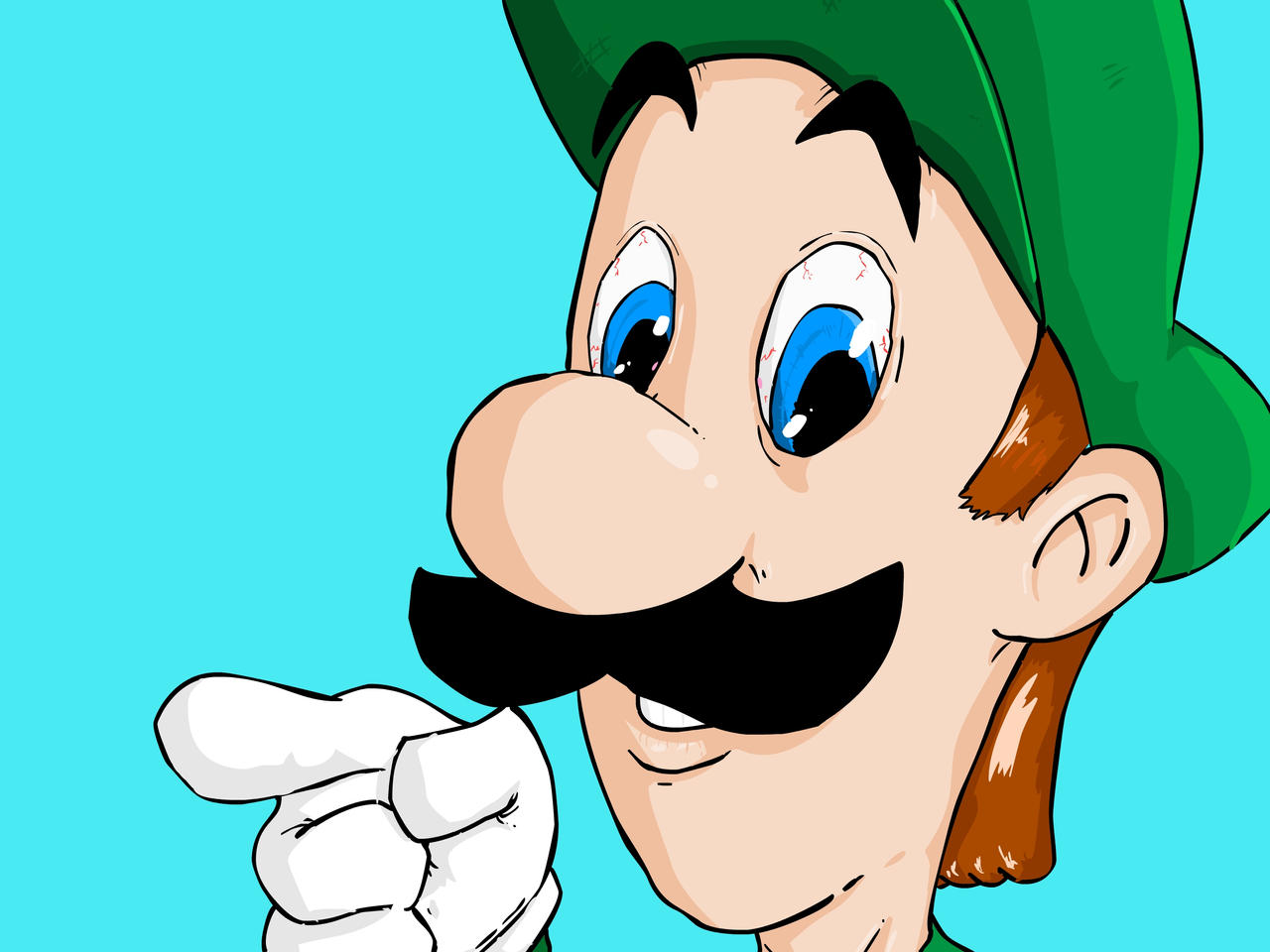 Luigi Is Gay 24