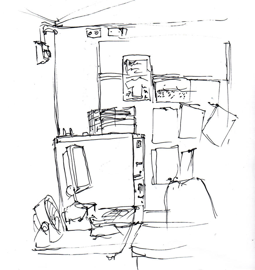 Classroom Design Sketch ~ Classroom sketch by rozner on deviantart