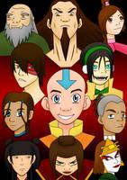 The Avatar Crew by chrisdog203