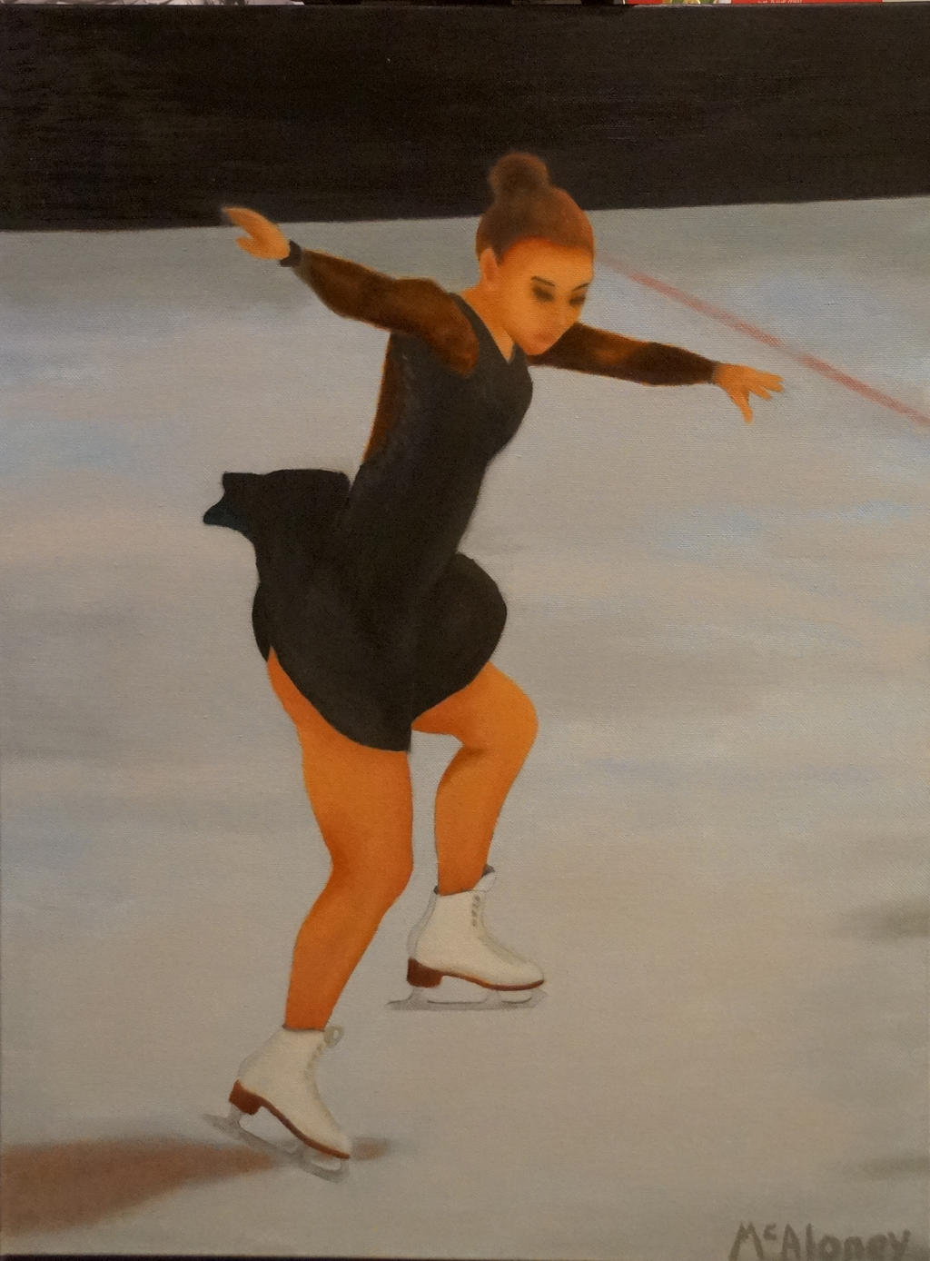 Figure Skater by luckyseven11779