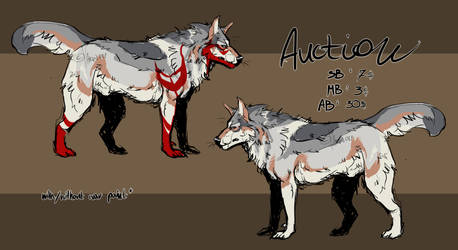 WOLF ADOPT AUCTION [OPEN]