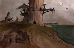 Shadow World - concept1 by Kiiro-chan