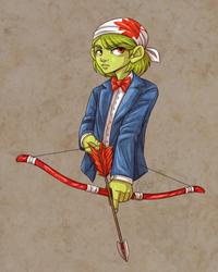 Green Archer - trade by Kiiro-chan