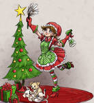 Holiday House Cleaning by Kiiro-chan