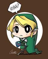 LoZ: MG - Link Doodle by Aeridis