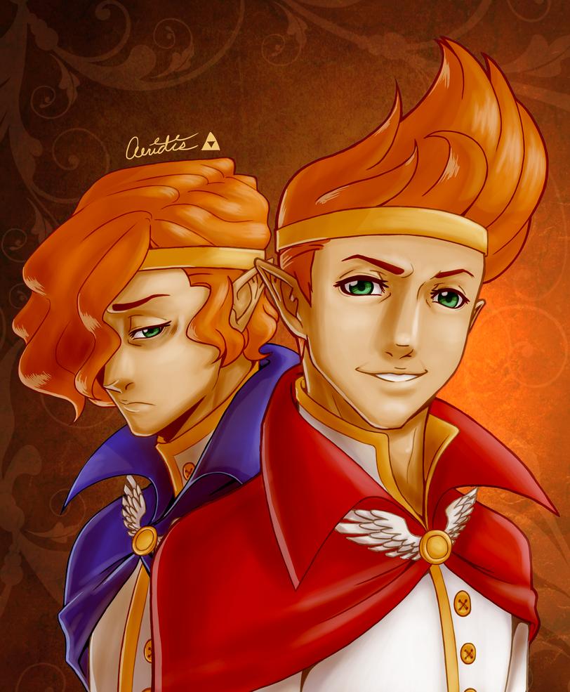 LoZ: MG - Royal Twins by Aeridis