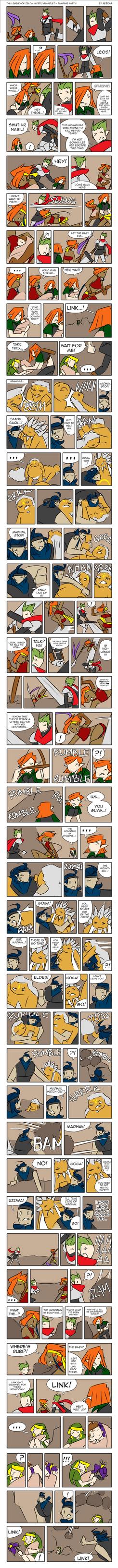 LoZ: MG - Rampage Part II by Aeridis