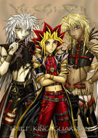 The Bishounen of YuGiOh by caleyndar