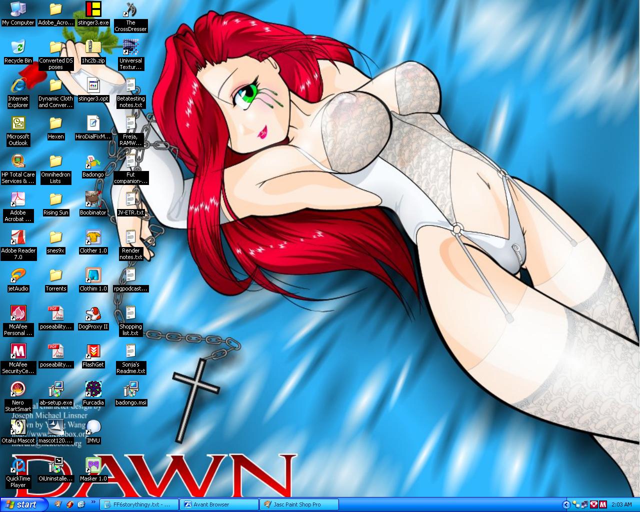 My Desktop by SilkaLiveDoll