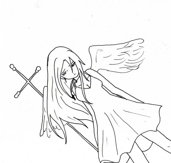 coloring pages of fallen angels - photo#20