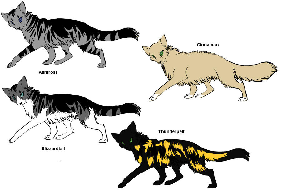 Warrior Cats Rpg Create Your Cat