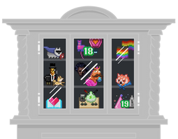 Trophy Case (PSD attached so you can make one!)