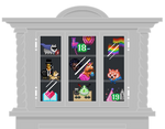 Trophy Case (PSD attached so you can make one!) by ggMattB
