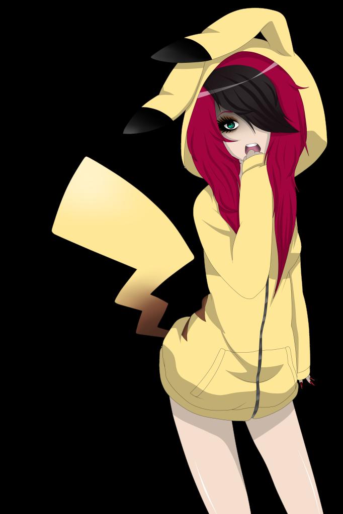 Emo Pikachu Girl By Izuminiimura On Deviantart
