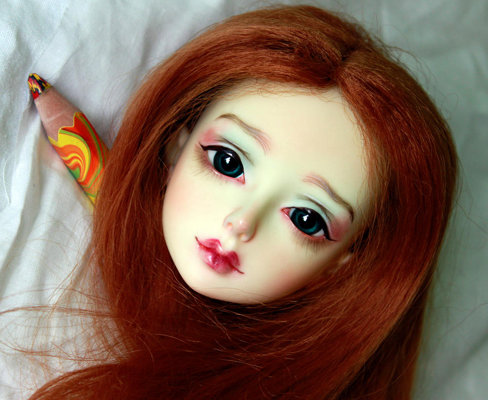 DollFamily Lila msd bjd abjd doll  makeup faceup by smileidiote