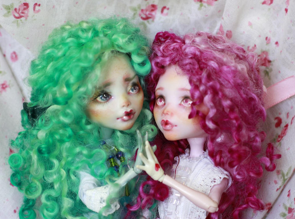 Monster High OOAK doll Mattel Draculaura Lagoona by smileidiote