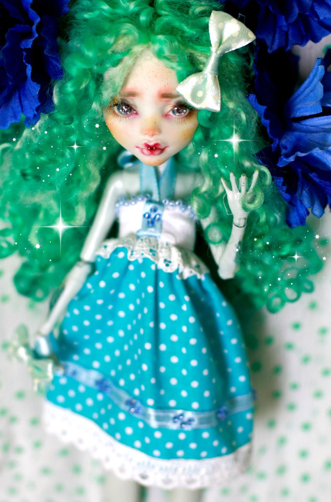 Monster High OOAK doll Mattel Lagoona by smileidiote