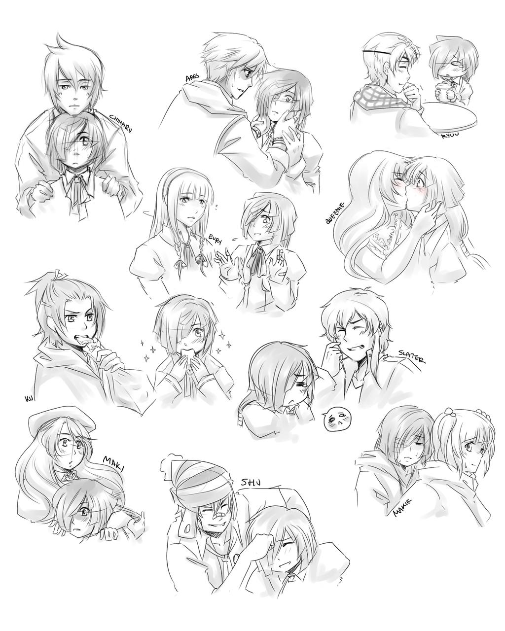 MM: RP Doodles #1 by kidoairaku