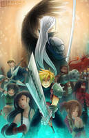 Final Fantasy VII by kidokaproject