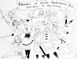 Elements of Wushu 10th Anniversary