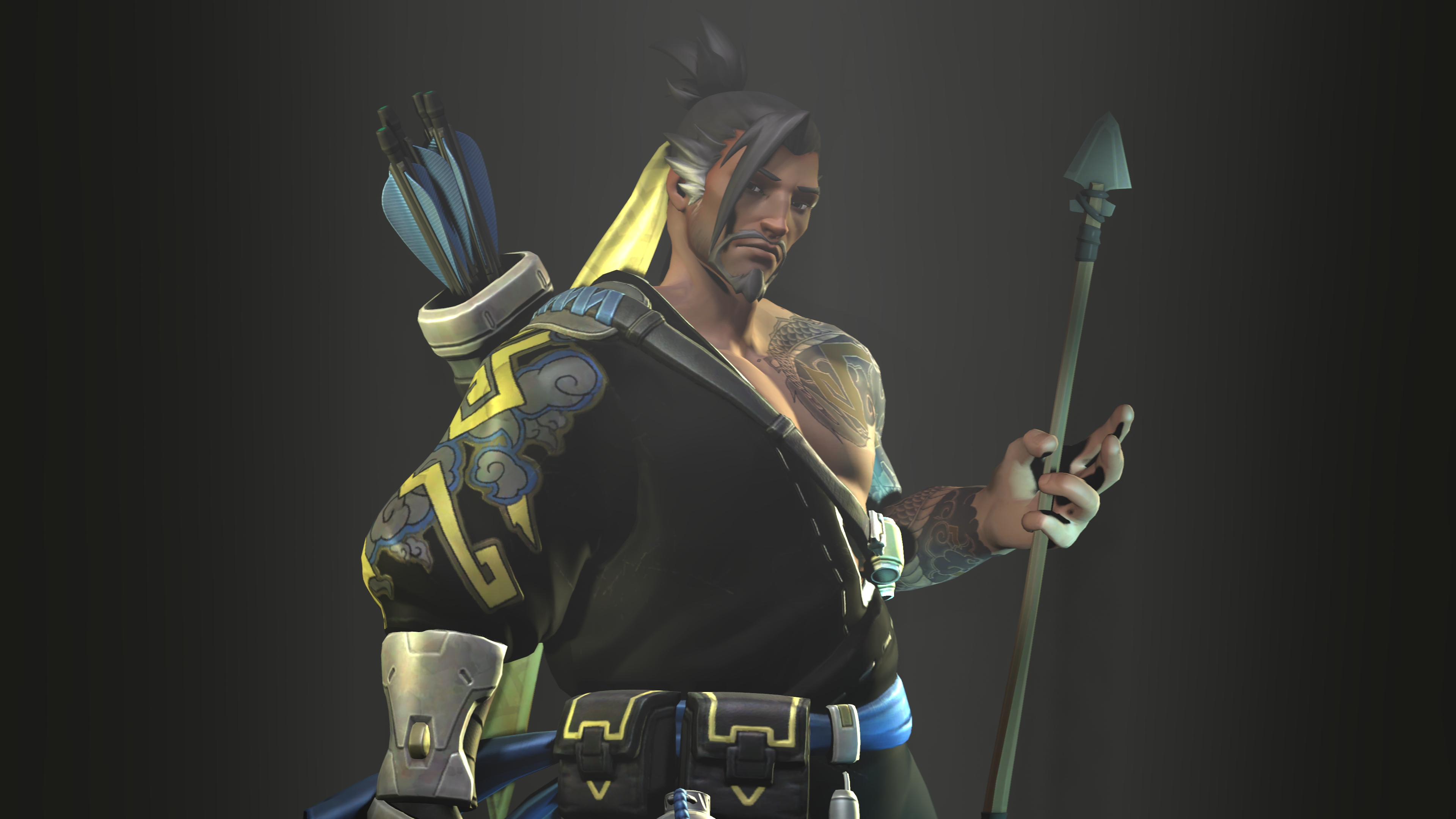 Hanzo. by xullet on DeviantArt